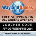 Wayland Games Free Shipping Exclusive Offer
